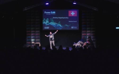 FameLab 2018: Our Swiss Winner was up to the International Final!