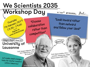 We Scientists 2035 Workshop Day