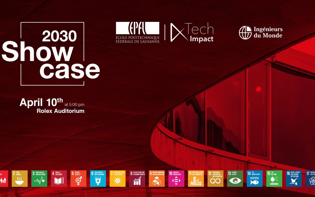 Showcase 2030 – 10th April, Rolex Center