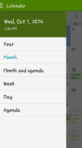 samsung galaxy s5 calendar