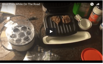 Tips On Meal Prep While Traveling #BSoFit to #BSoFly