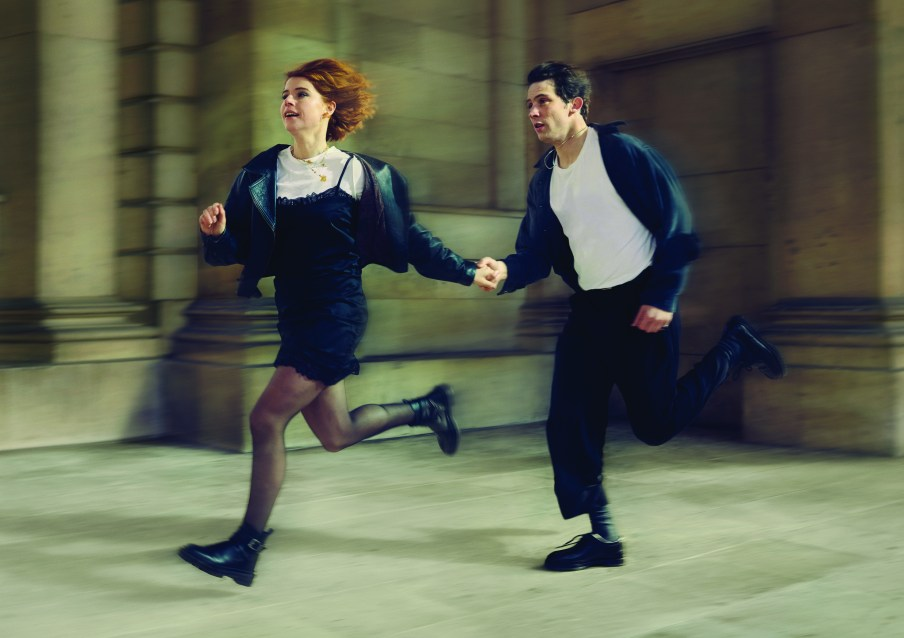 Jessie Buckley and Josh O'Connor