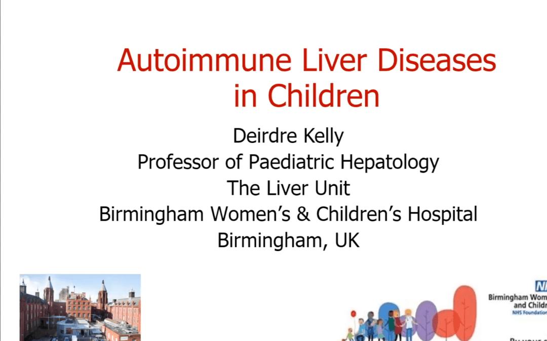 Autoimmune Hepatitis- Deirdre Kelly