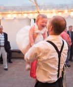 Her favorite was when her daddy was lifting her. Look at that smile.