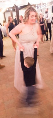 Till he wanted to be twirled.