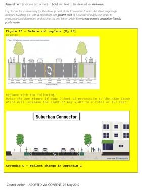 Replacement Photo Transportation Plan Amendments -- Return to Plan Commission - Packet