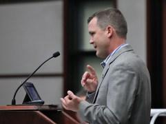 Bloomington's director of public works, Adam Wason