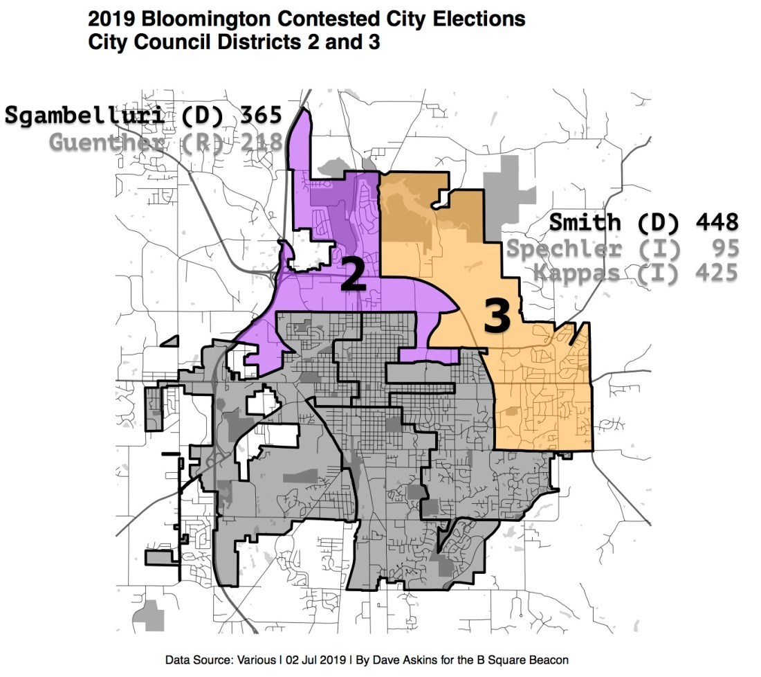 for beacon Election Results Labeled R Map 2019 Bloomington City ElectionsDistrictRepsxxxx copy