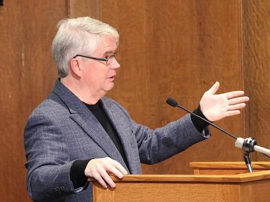 Bloomington's mayor, John Hamilton. (Dave Askins/Beacon)