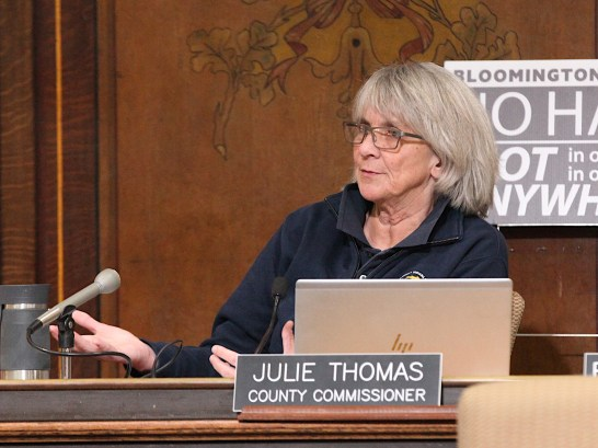 President of Monroe County's board of county commissioners, Julie Thomas. (Dave Askins/Beacon)