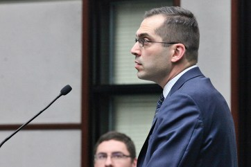 City attorney Mike Rouker answers a question at the city council meeting on Feb. 19, 2020.