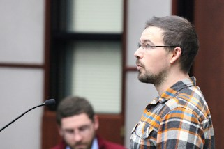 Daniel Bingham, who ran for Bloomington city council last year, addresses the climate action and resilience committee of the Bloomington city council.