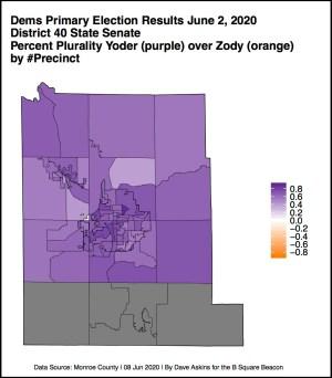 YODER R Map Election June 2