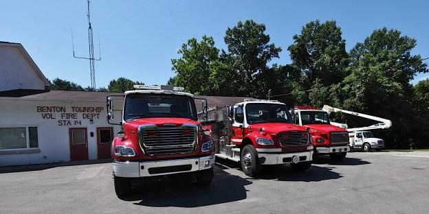 Benton Township fire station on SR 45.