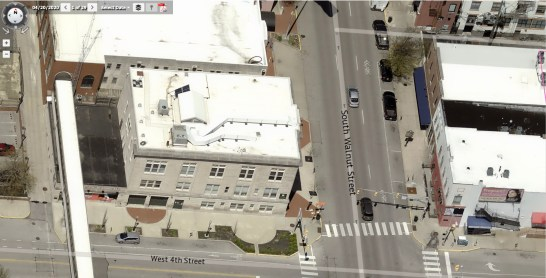 Image of The Waldron from the Pictometry module of Monroe County's online property lookup.