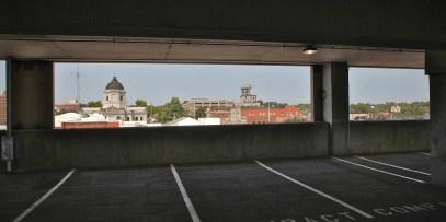 4th Street parking garage Bloomington, Indiana (Sept. 11, 2021)