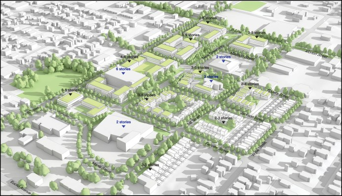 hospital site from the master plan Screen Shot 2021-10-04 at 3.46.24 PM