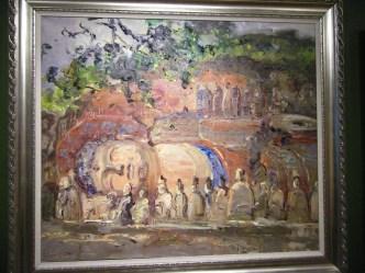 Artist - Zhang Jiyn Oil painting