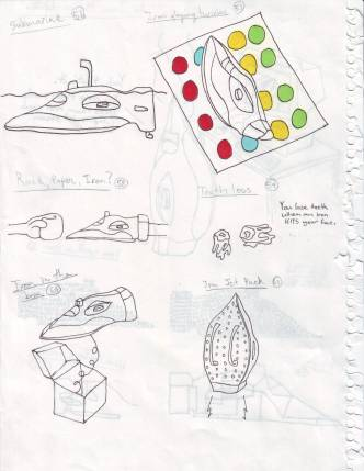 40 to show an iron (concepts, pg14)