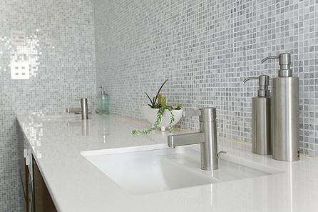 de vasque en pierre marbre granit quartz