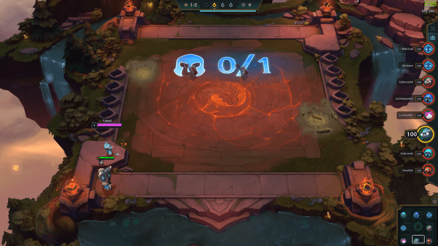 Unit buying board team fight tactics, auto chess