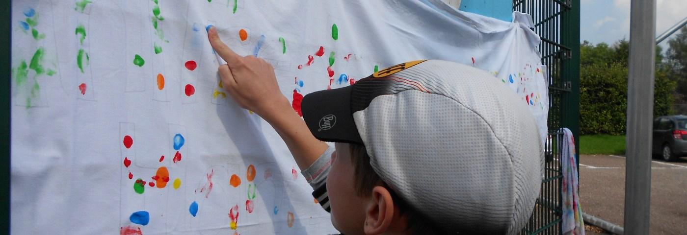 Action-Painting – Eine Aktion des Schülerrats