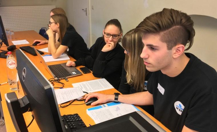 Ein gelungener Tag für Schüler der Oberstufe: J1T