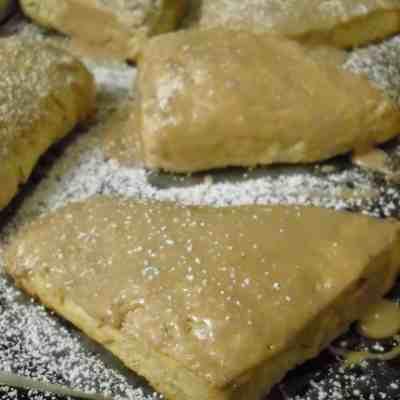 Maple Brown Sugar Scones