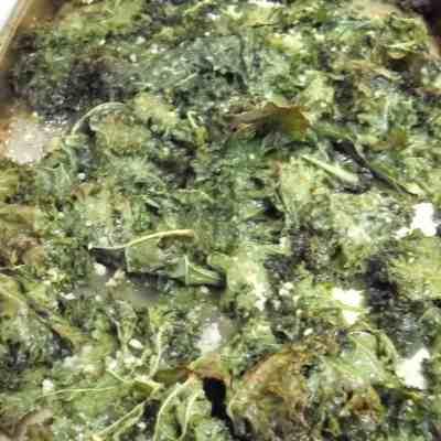 Garlic Kale Chips