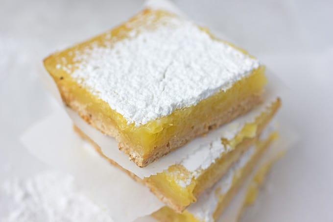 Tart Lemon Squares Recipe