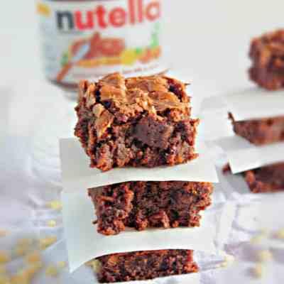 Crispy Nutella Brownies Recipes