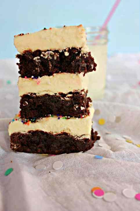 Buttercream Brownies