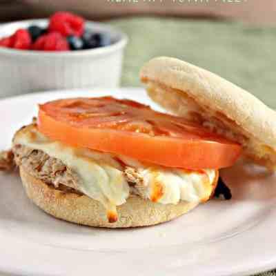 Healthy Tuna Melt Sandwich