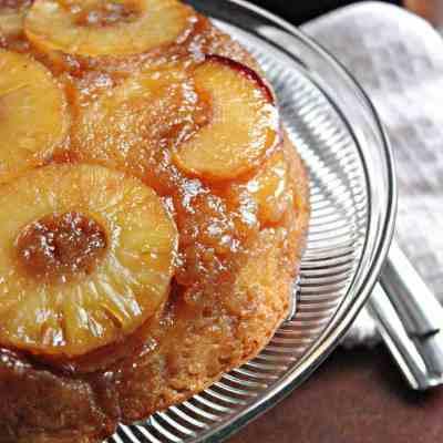 Pineapple Peach Upside Downcake