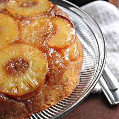 Pineapple Peach Upside Downcake