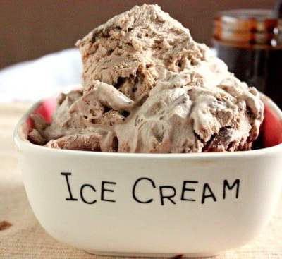Drunken Chocolate Chunk Ice Cream