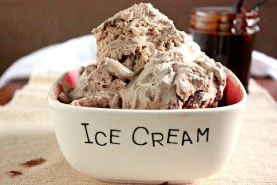 Drunken Chocolate Chunk Ice Cream