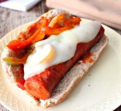 Andouille Sausage Marinara Sub Sandwiches