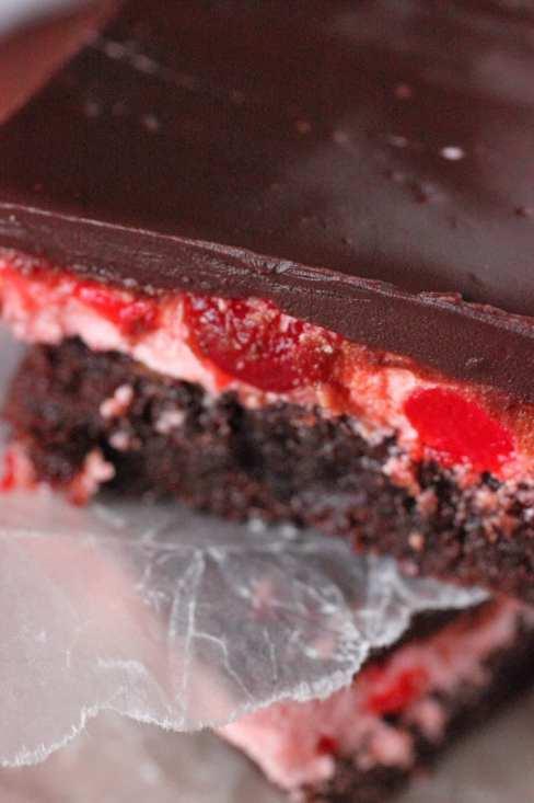 Cherry Cordial Brownies