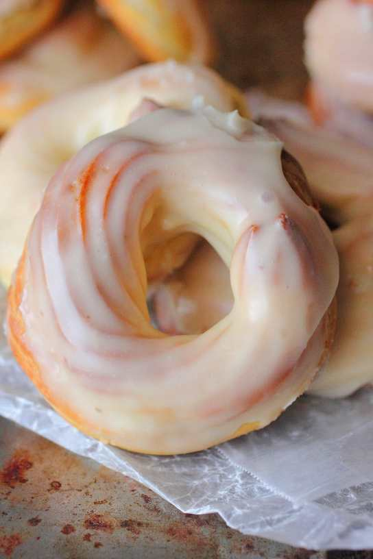 French Cruller Doughnuts | Brown Sugar