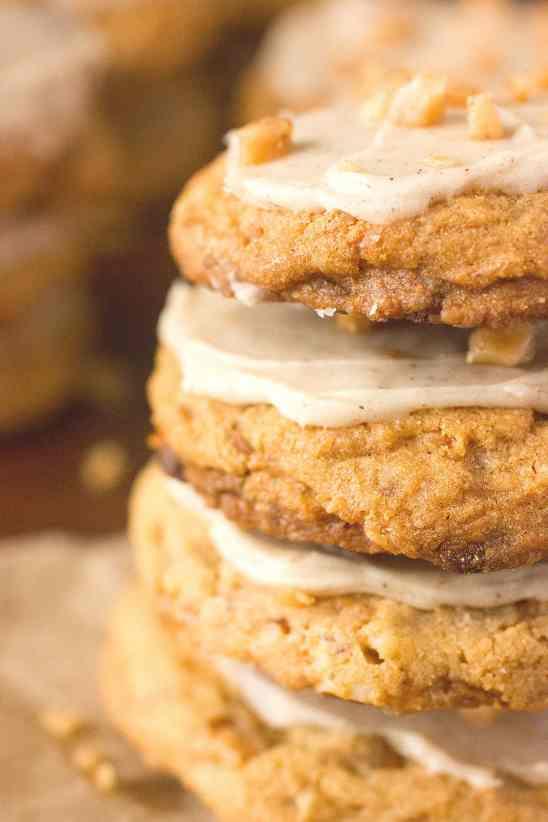 Cinnamon Toffee Crunch Cookies