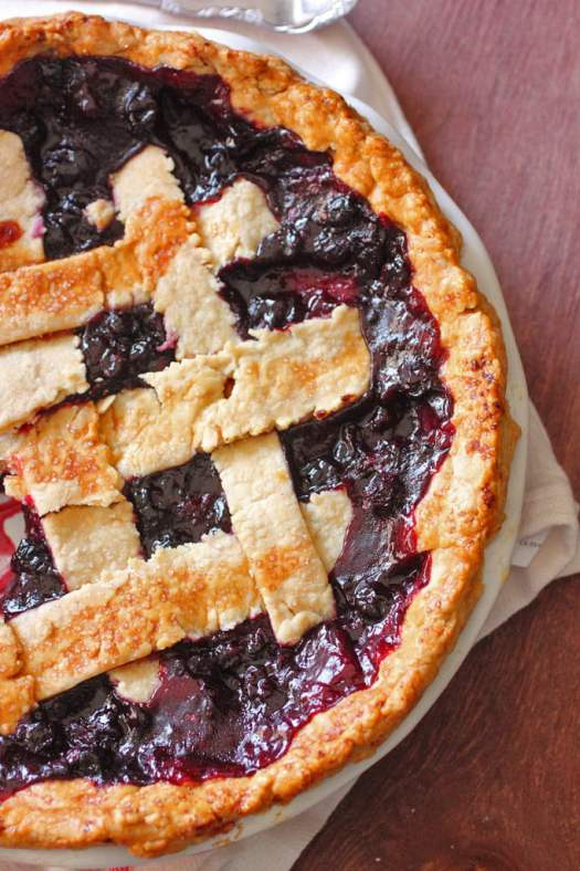 Mixed Berry and Cherry Pie Recipe