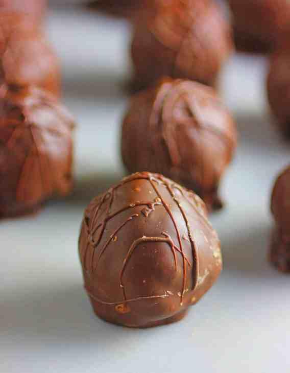 Brownie Chocolate Truffles
