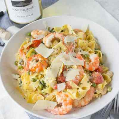 Spring Shrimp Pasta Recipe
