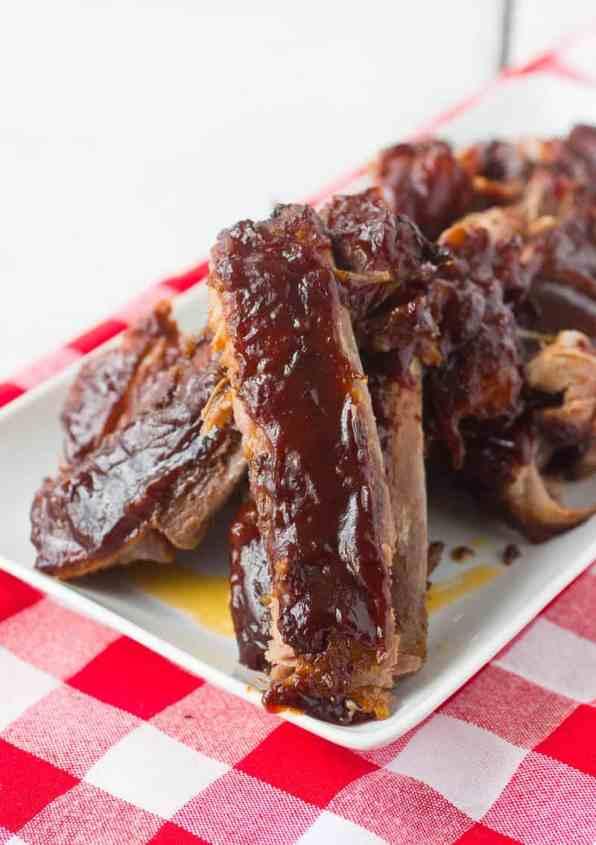 Oven Baked Pork Ribs