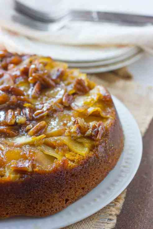 Caramel Apple Pumpkin Cake Recipe