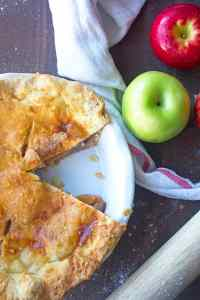 Deep Dish Apple Pie Recipe
