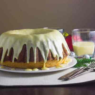 Rum and Eggnog Pound Cake