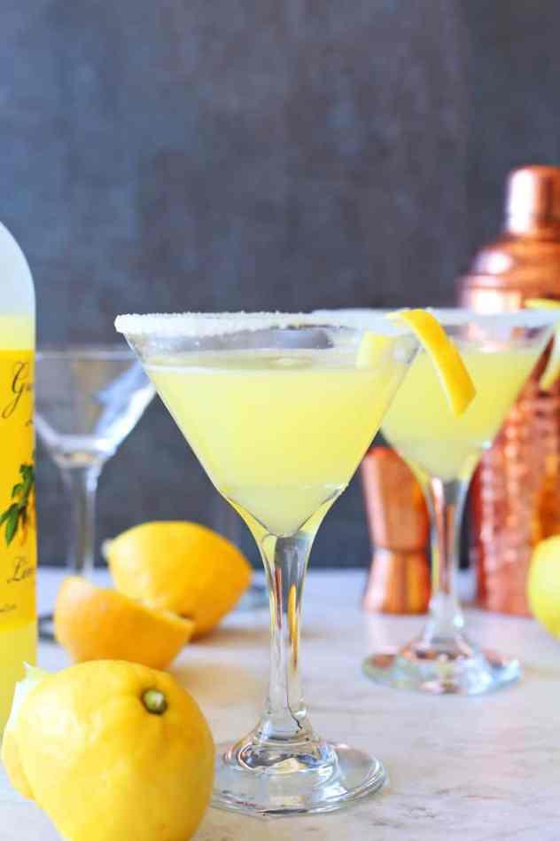 Lemon Drop Martini | Brown Sugar