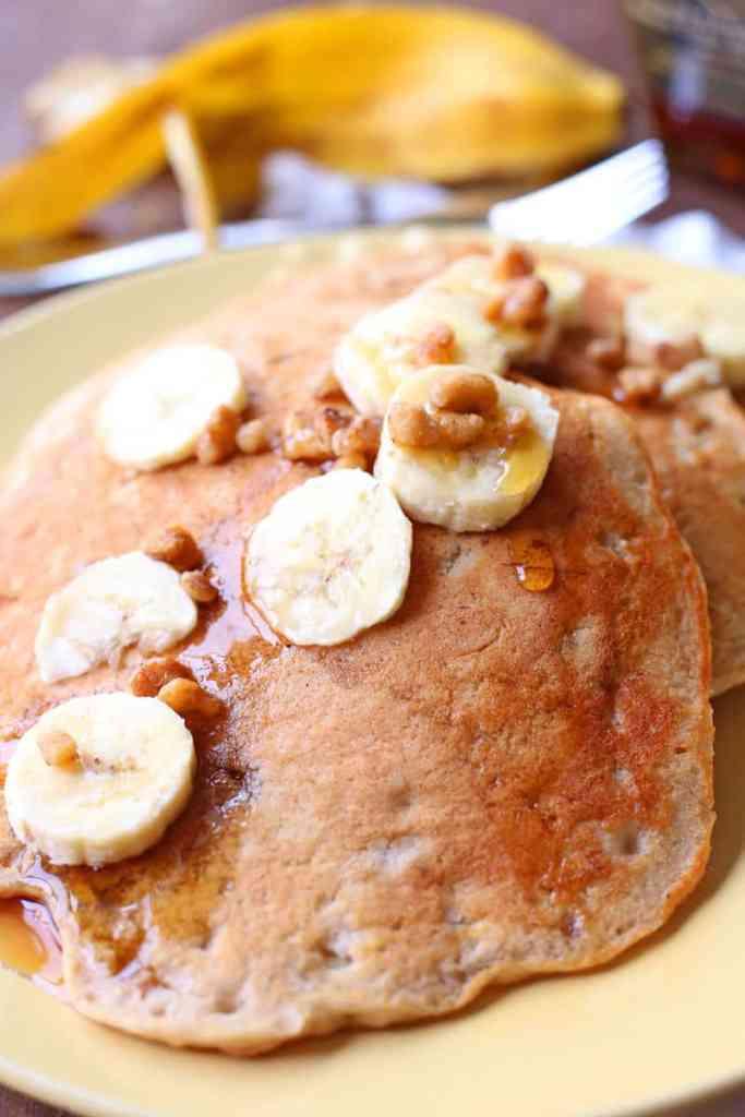 Banana Nut Pancakes Recipe